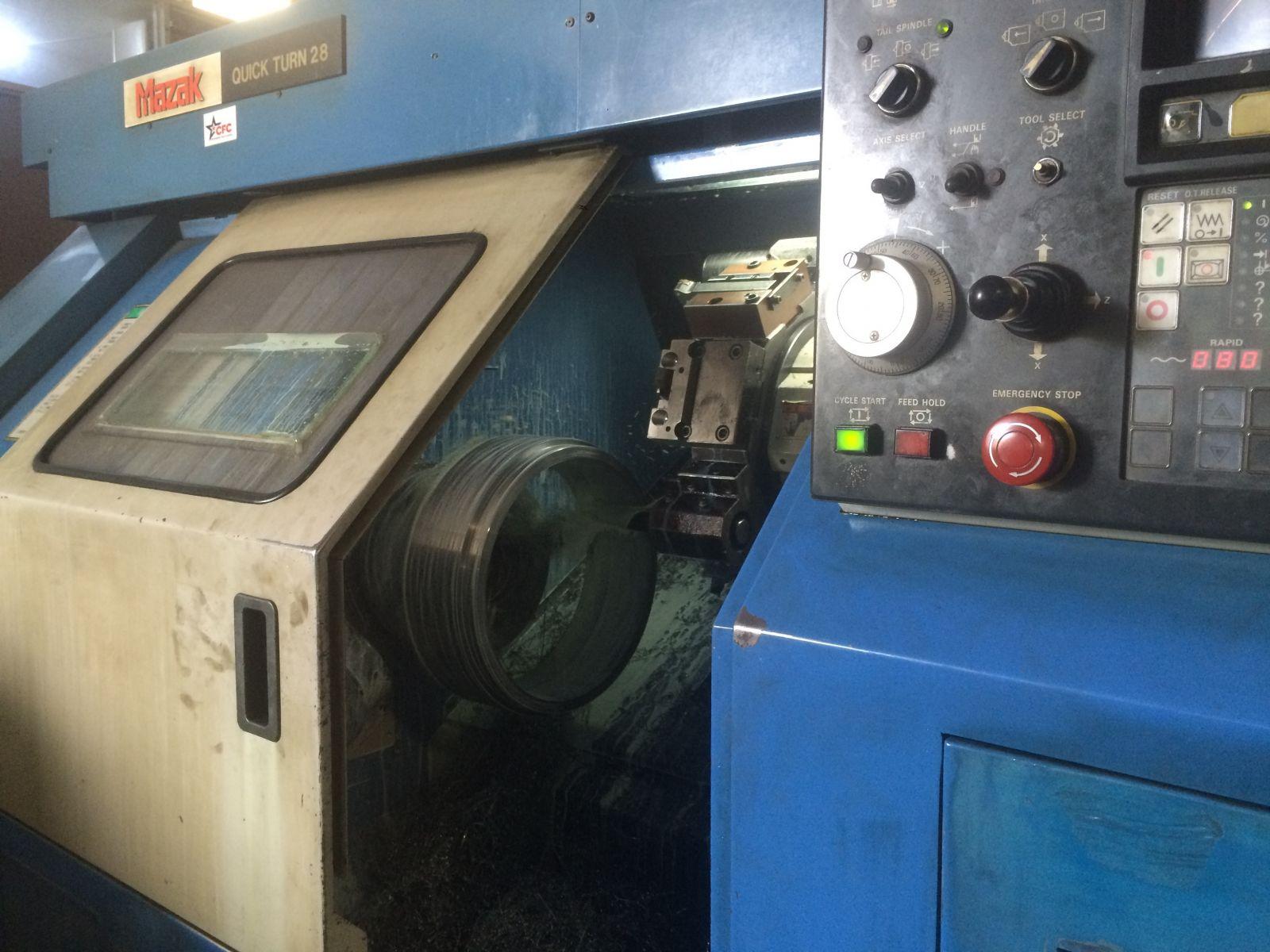 Gia công chính xác trên máy tiện CNC